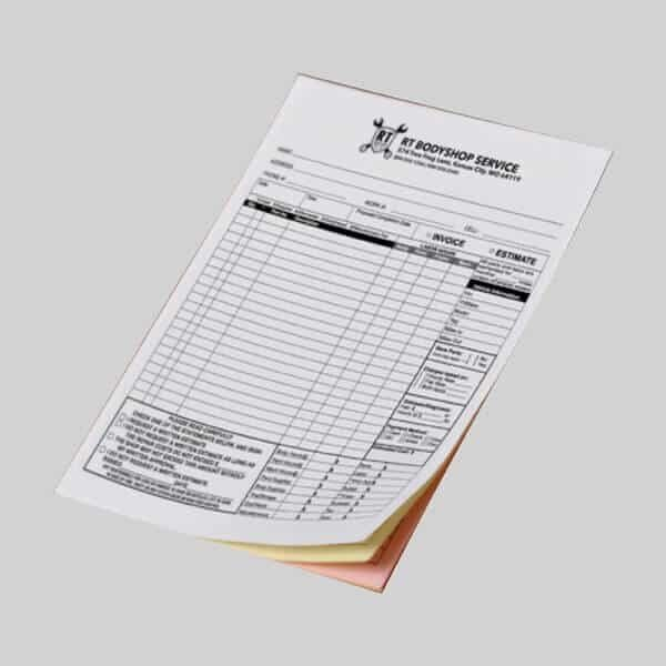 carbonless NCR Forms