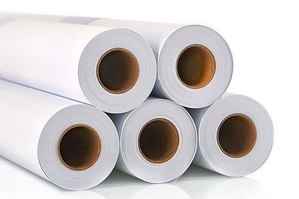 Large format custom prints on vinyl, sticker paper, or static cling