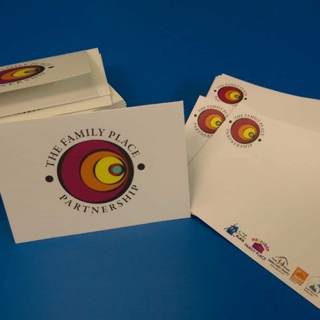 Custom greeting cards and envelopes