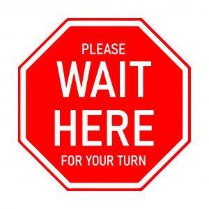 Wait here COVID-19